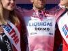 33 Vincenzo Nibali in maglia rosa