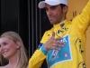 30 Alberto Contador in maglia gialla